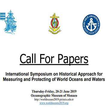 Call For Papers International Symposium on Historical Approach for Measuring and Protecting of World Oceans and Waters